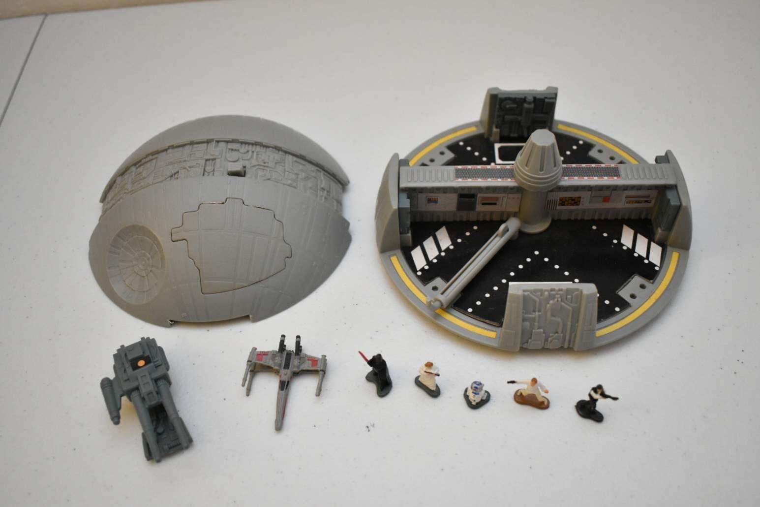 Vintage STAR WARS Death Star Micromachine