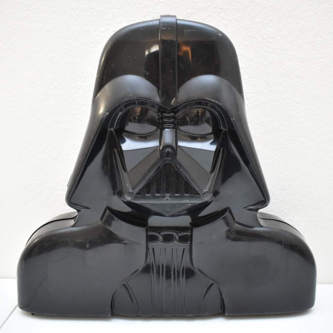 Vintage STAR WARS Darth Vader Figure Case from 1977