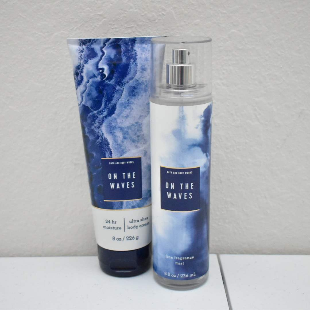 *FULL* Bath & Body Works Spray and Lotion: On the Waves