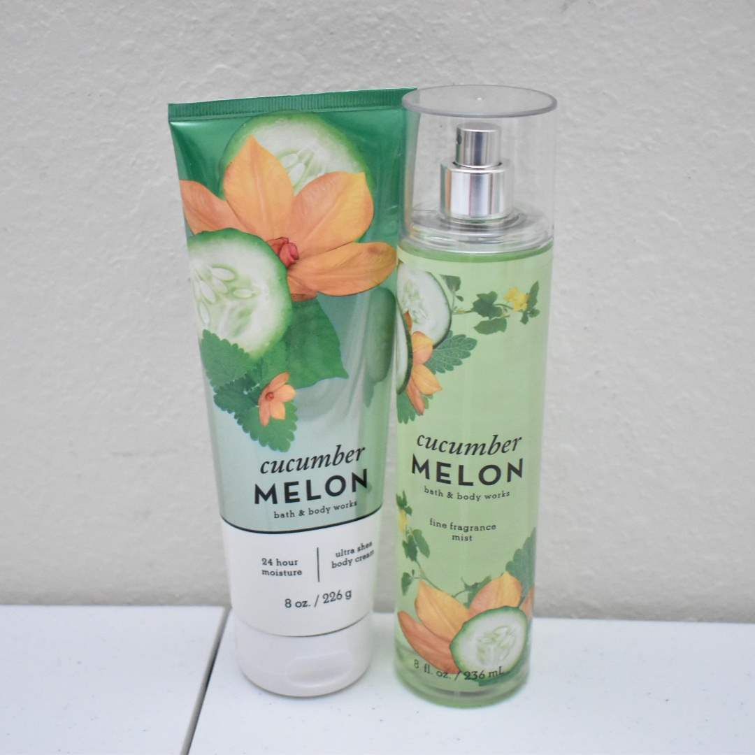 *FULL* Bath & Body Works Spray and Lotion: Cucumber Melon