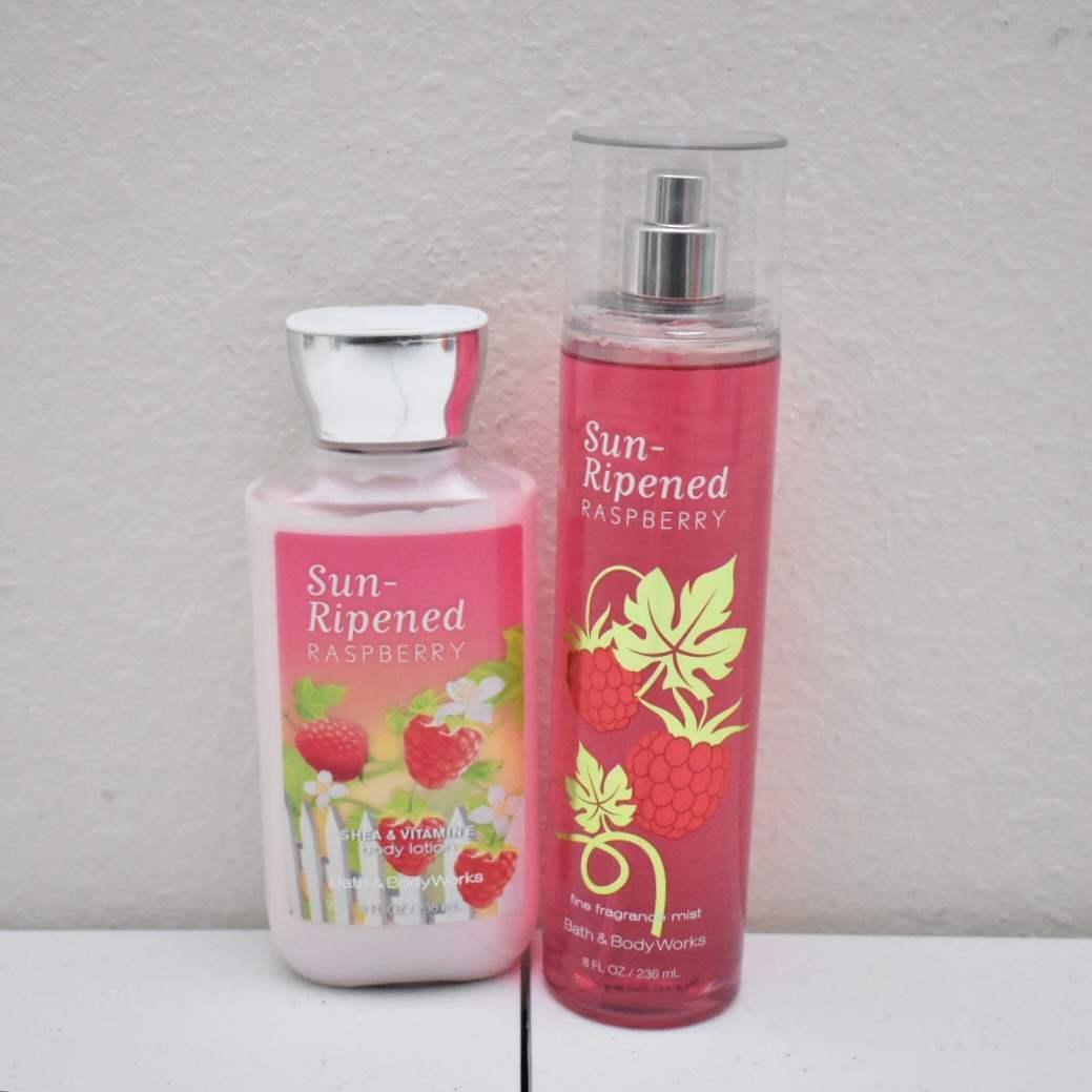 *FULL* Bath & Body Works Spray and Lotion: Sun-Ripened Raspberry