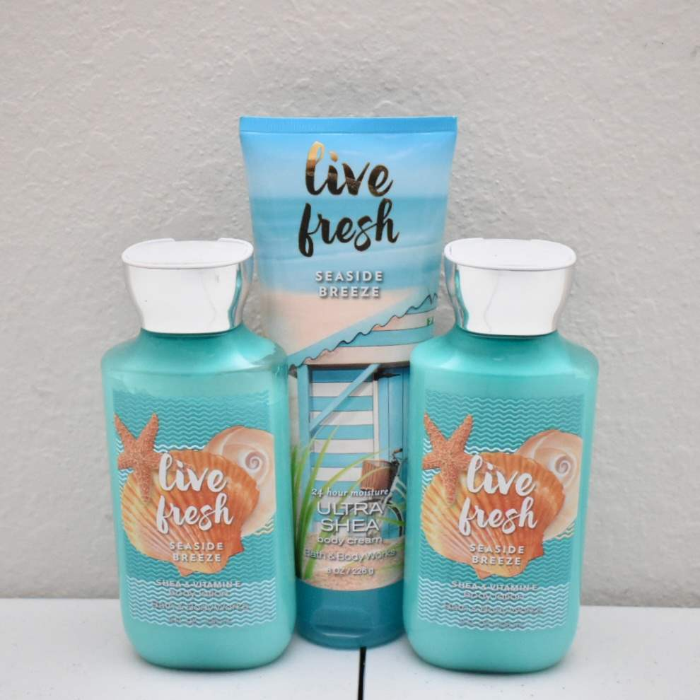 *FULL* Bath & Body Works Body Cream and Lotions: Live Fresh