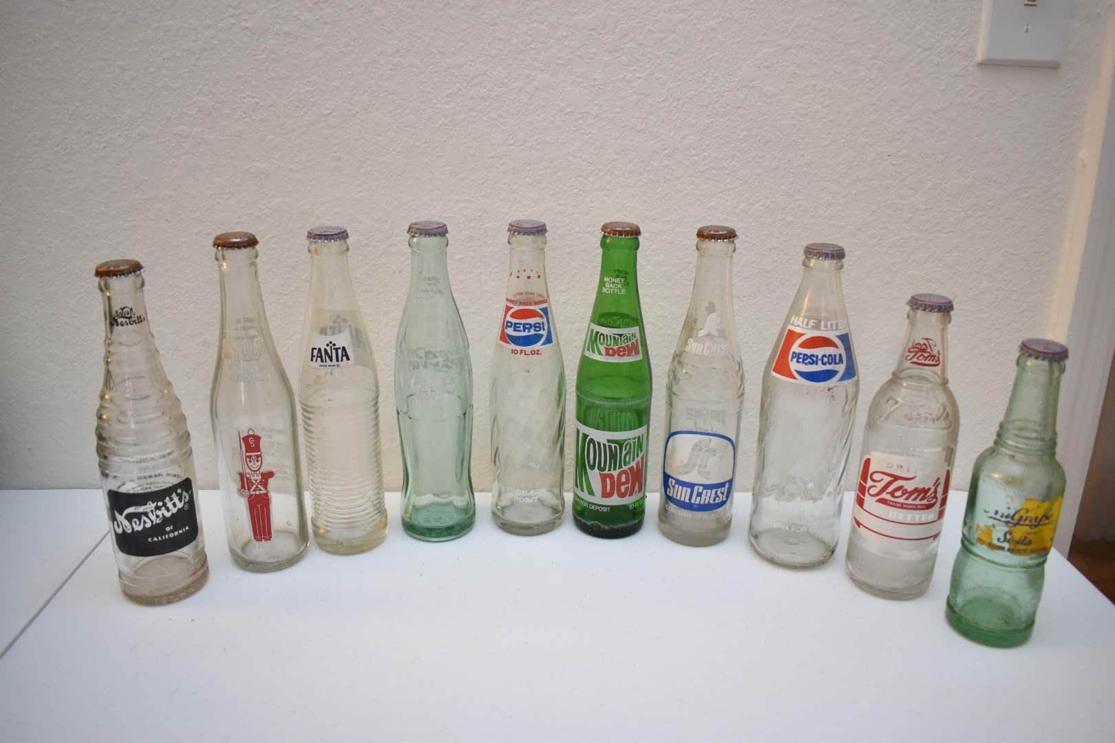 Vintage Soda Bottles #1