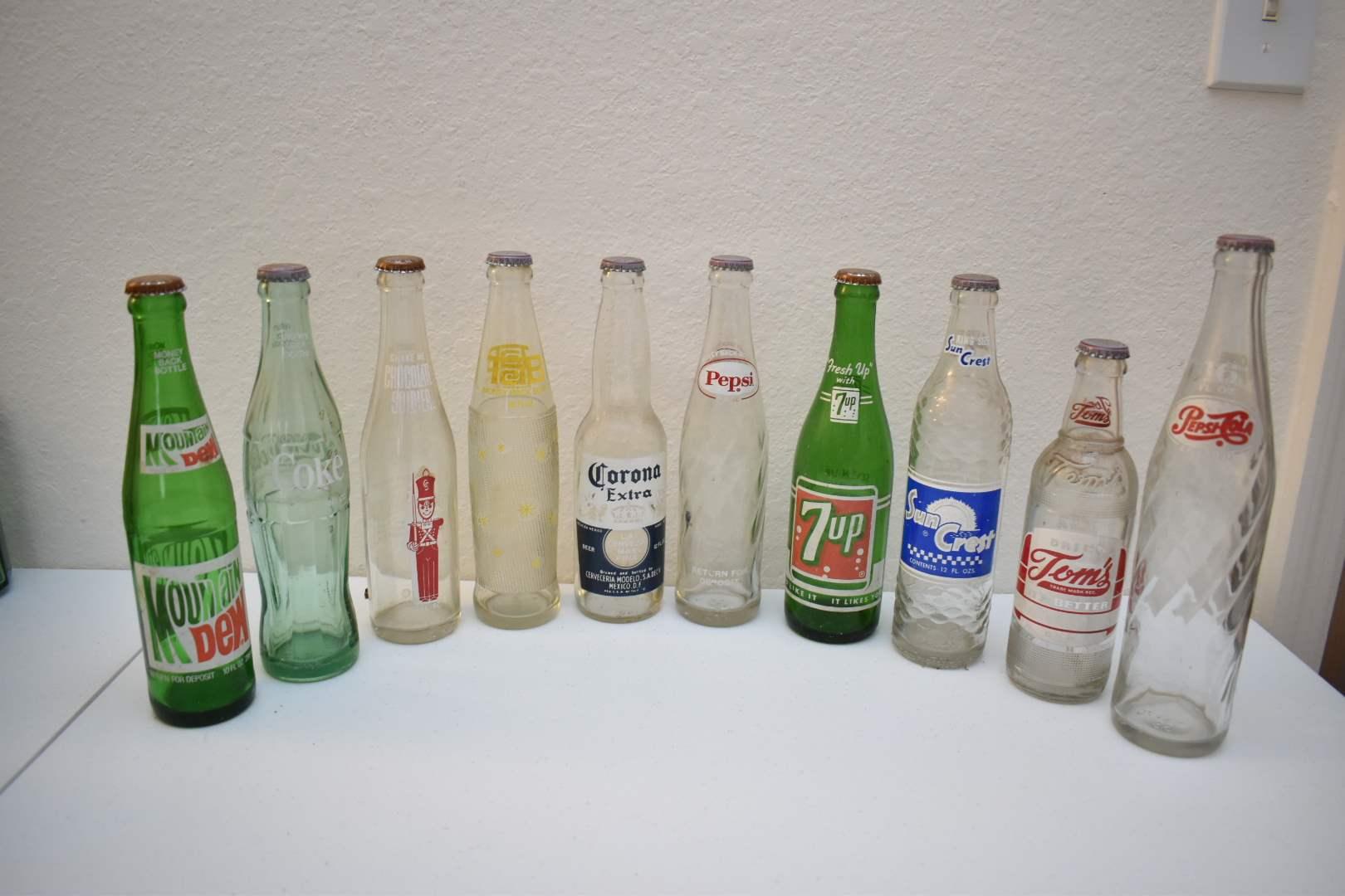 Vintage Soda Bottles #2