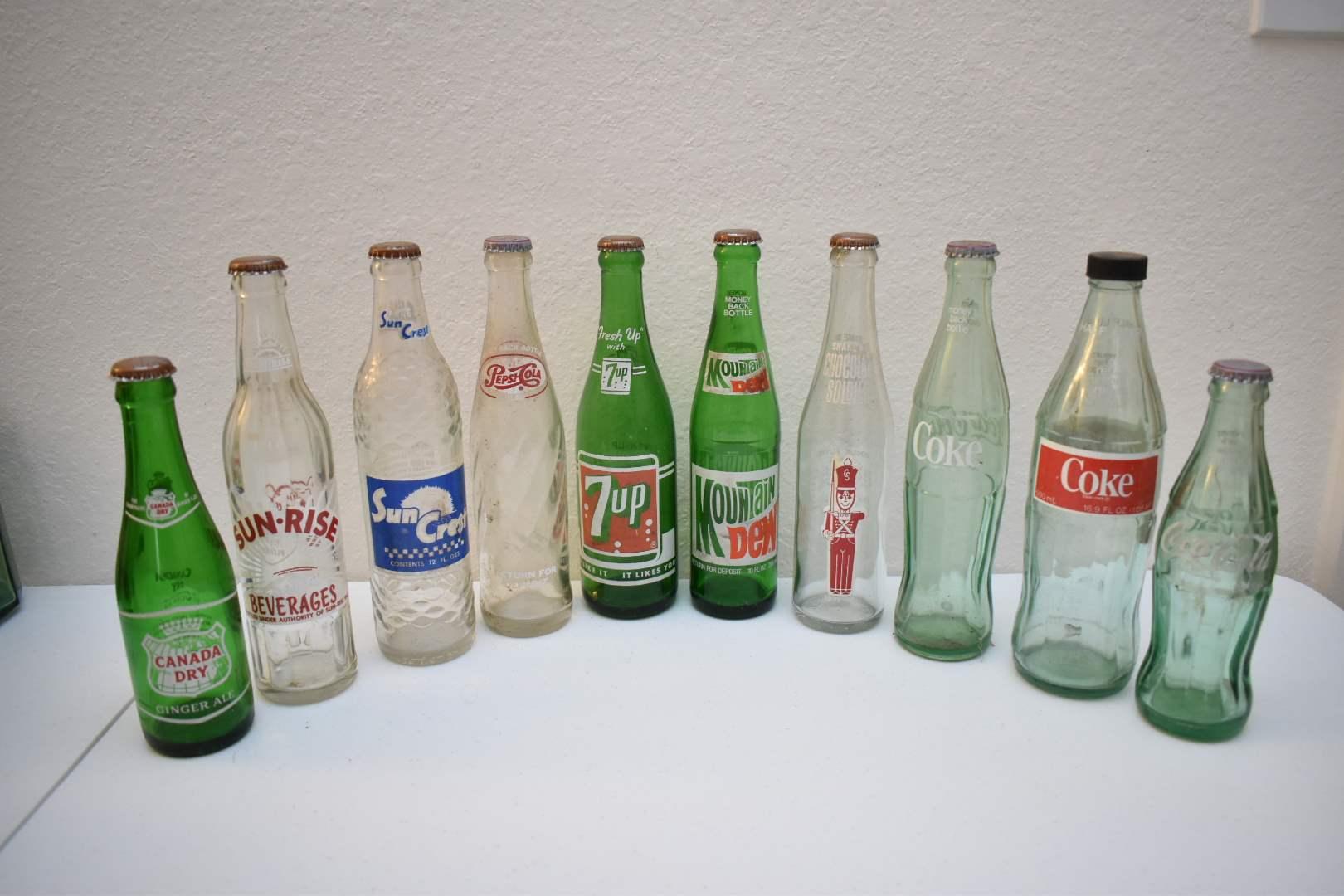 Vintage Soda Bottles #3