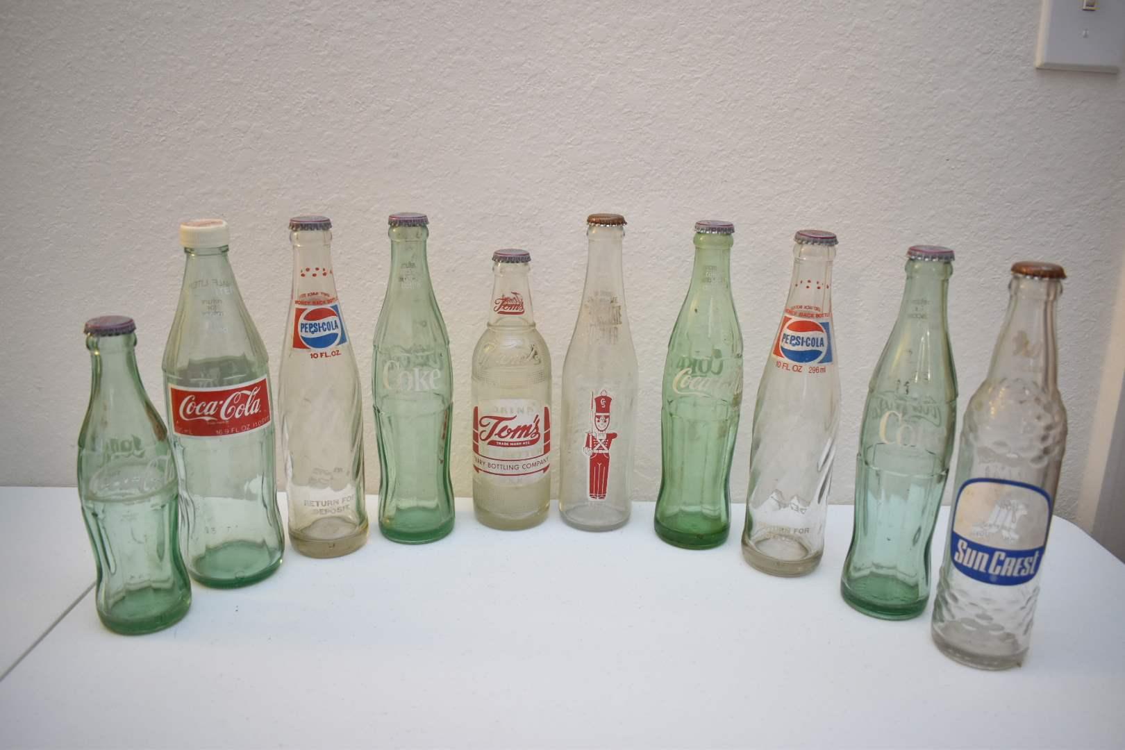 Vintage Soda Bottles #4