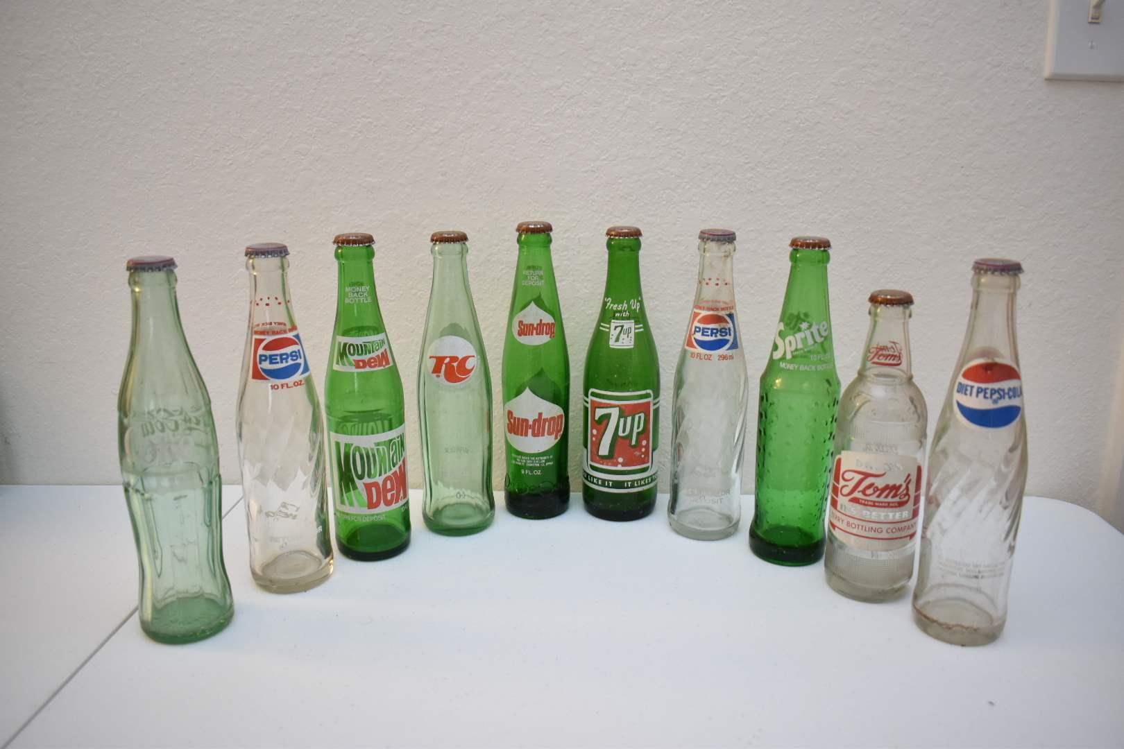 Vintage Soda Bottles #6