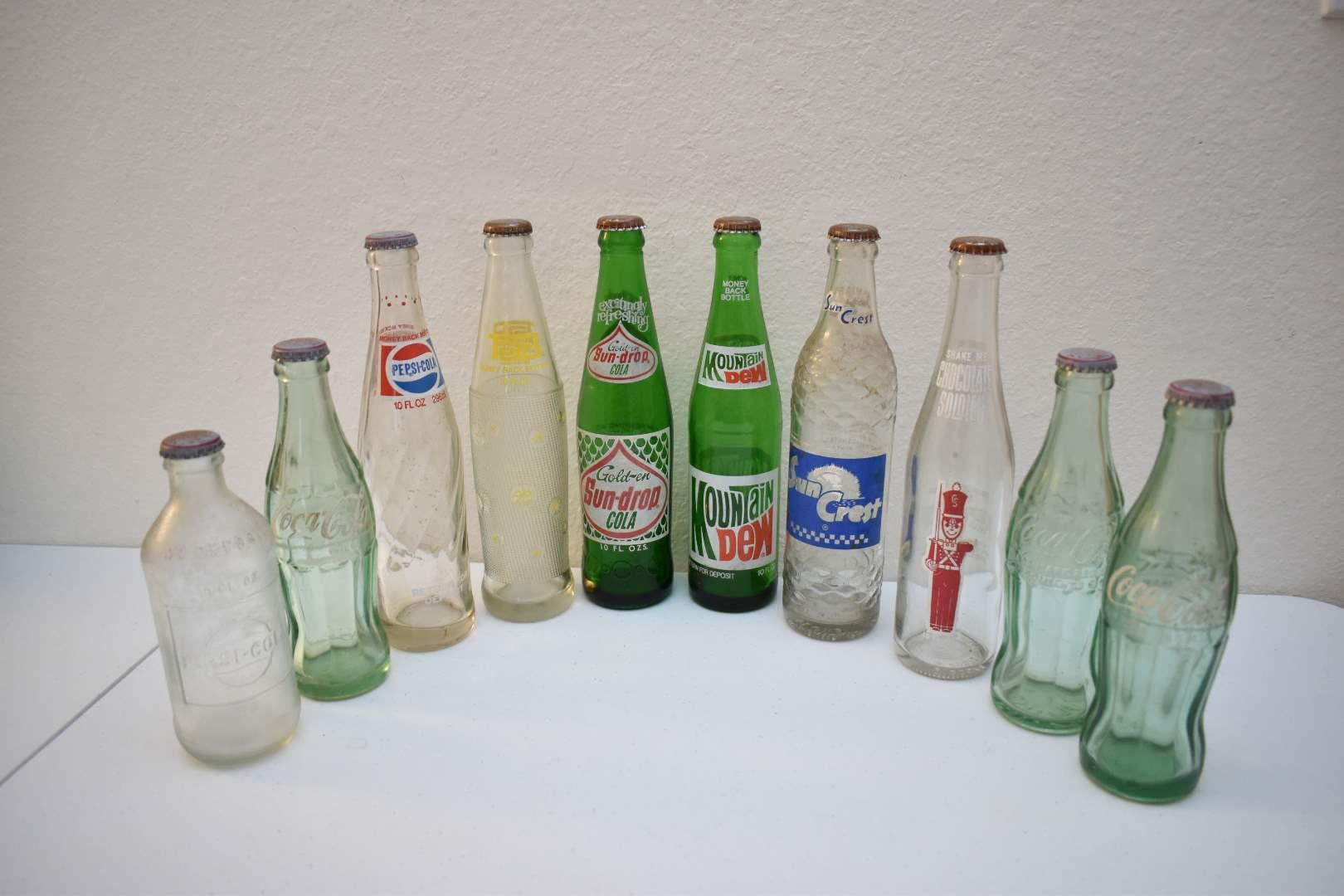 Vintage Soda Bottles #7