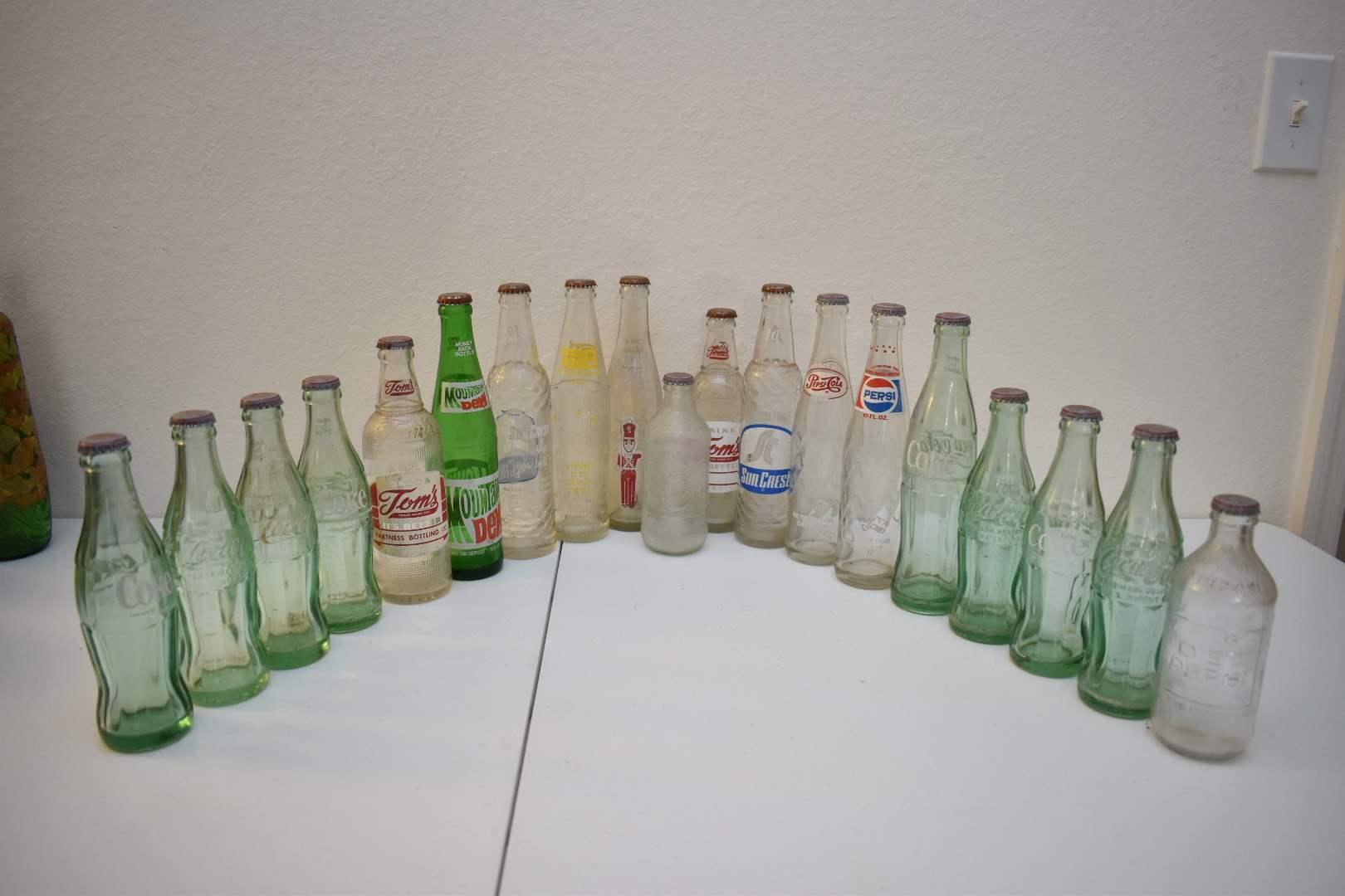 Vintage Soda Bottles #8