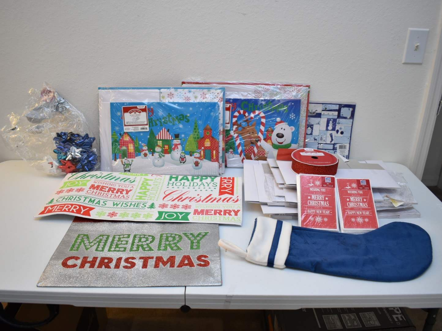 Christmas Boxes, Tags, Cards, etc