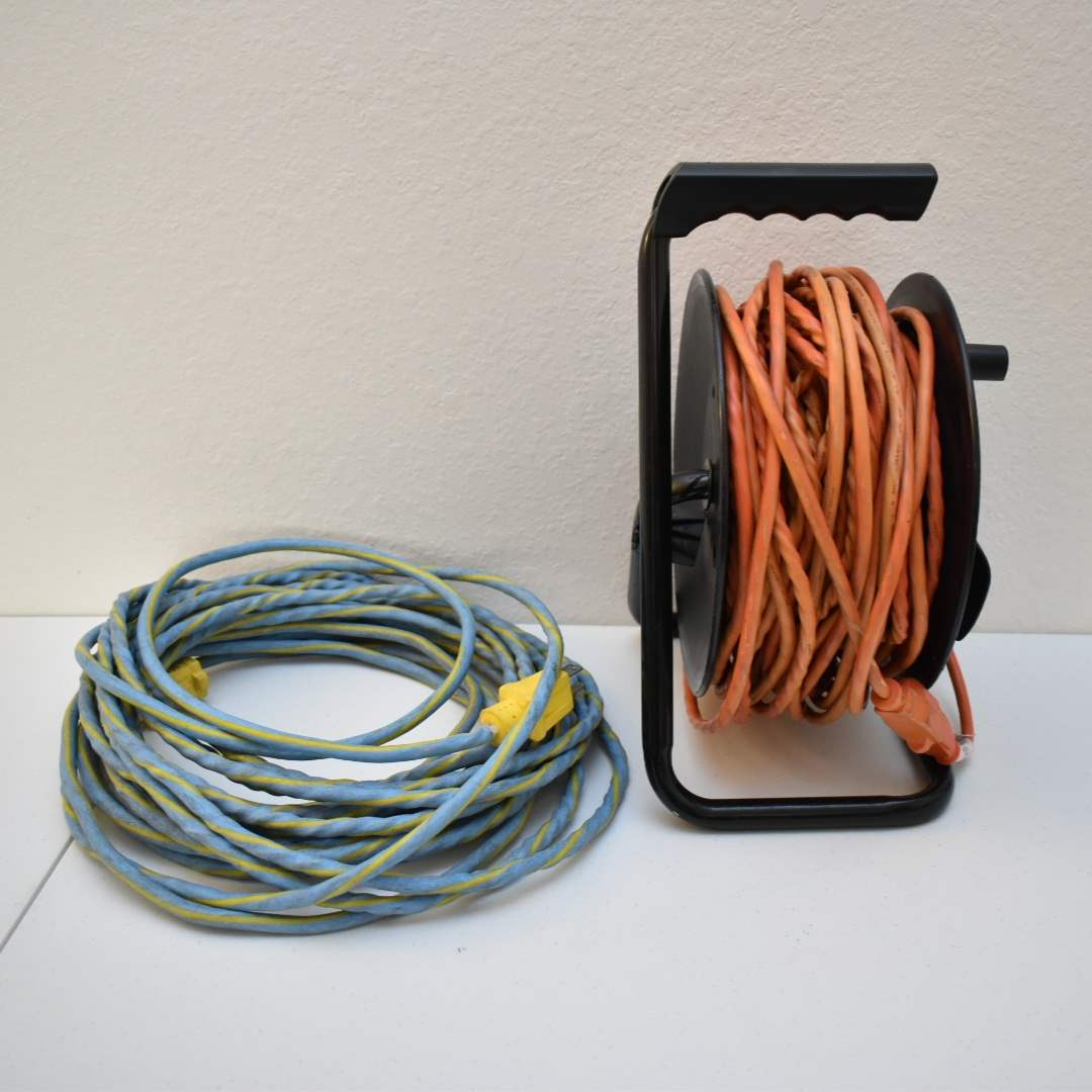 (2) Extension Cords with Holder