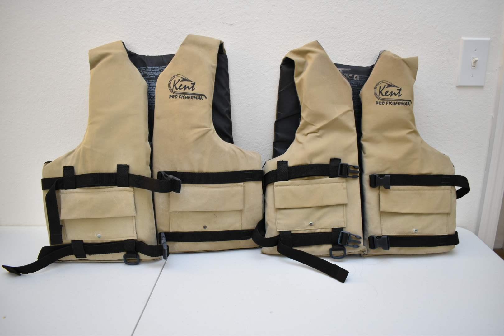 (2) Kent Lifejackets