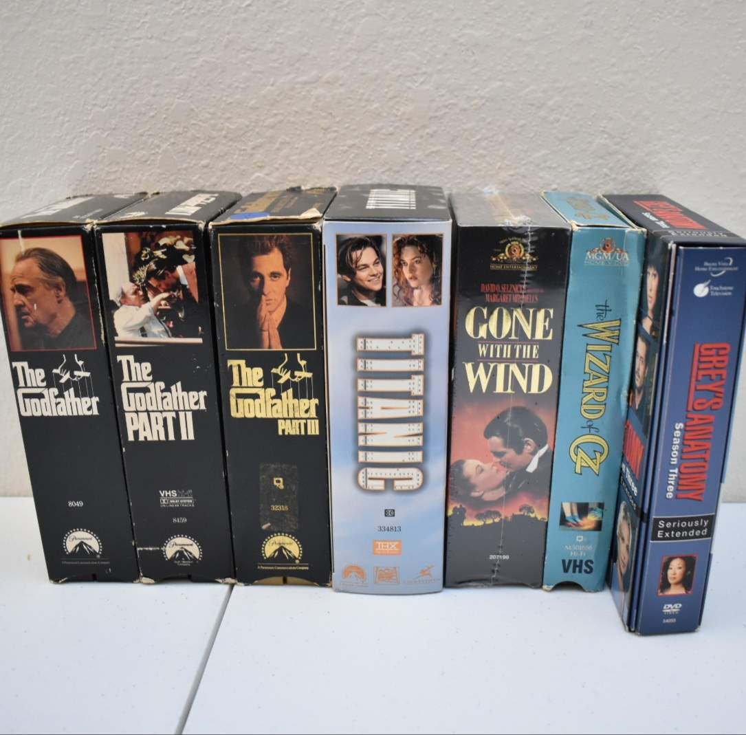 Godfather, Titanic, *Sealed* Gone with the Wind, Anniversary Edition Wizard of Oz