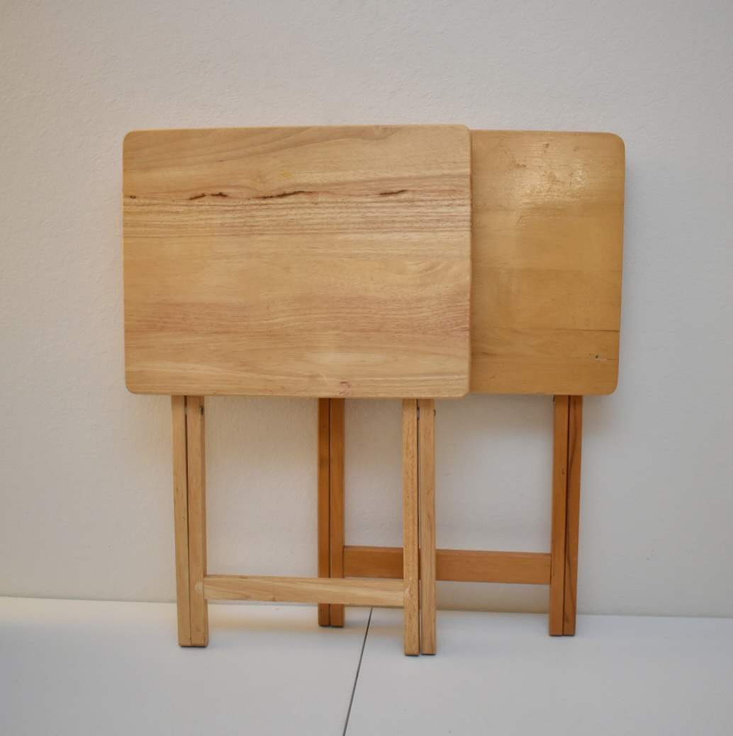 (2) Folding Tables