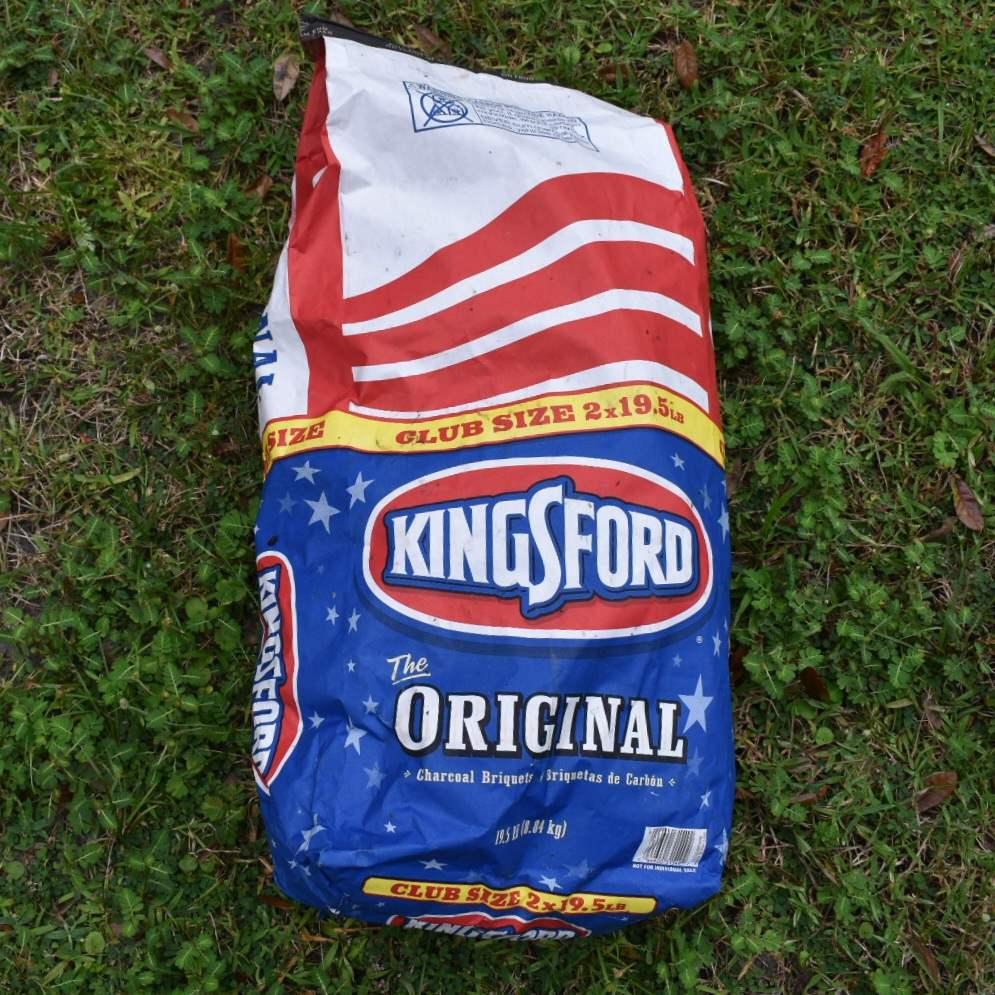 Bag of Kingsford Charcoal