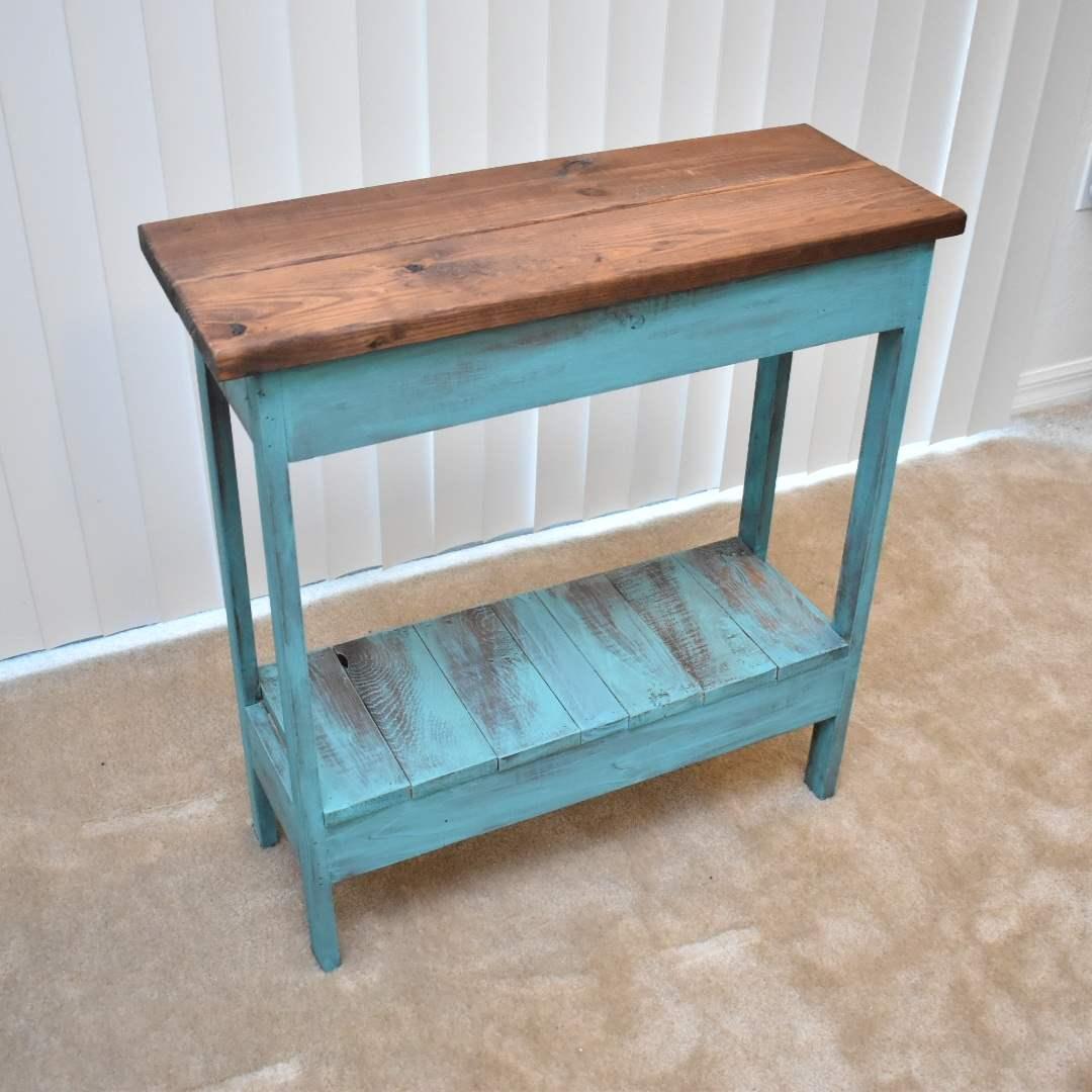 Custom Painted Handmade Decorative Table
