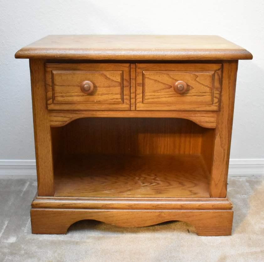 Wooden Stanley Nightstand