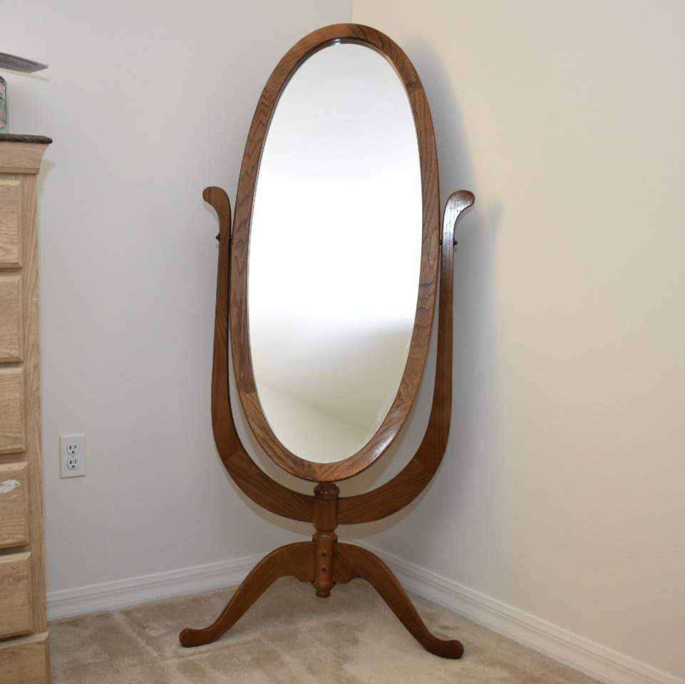 Full-Sized Standing Mirror