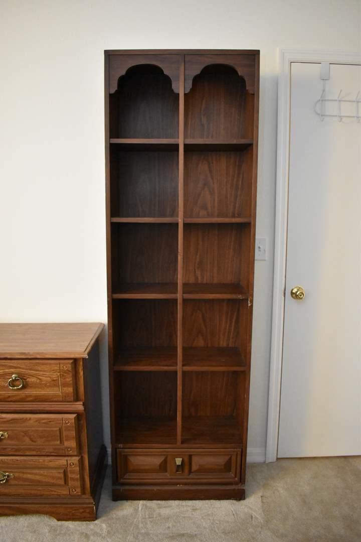 Regency Walnut Bookcase