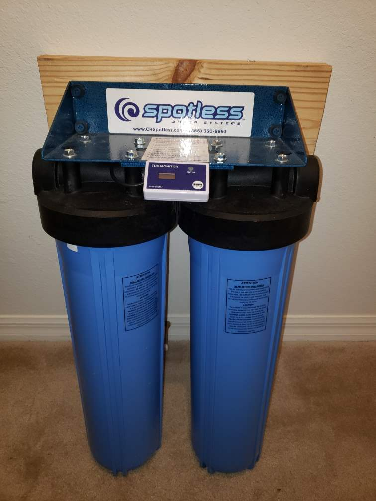 CR Spotless Water Purifying Tanks ($400 new)
