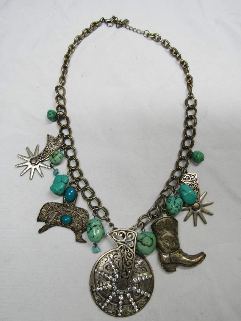 Lot # 171  Great western style necklace (main image)