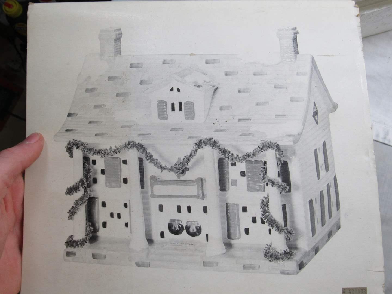 "Lot # 59  Dept 56 Snow Village ""Cumberland""  (main image)"