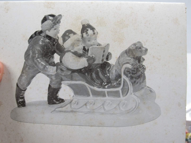 "Lot # 82 Dept 56 Snow Village ""Rolling Through the Snow"" (main image)"