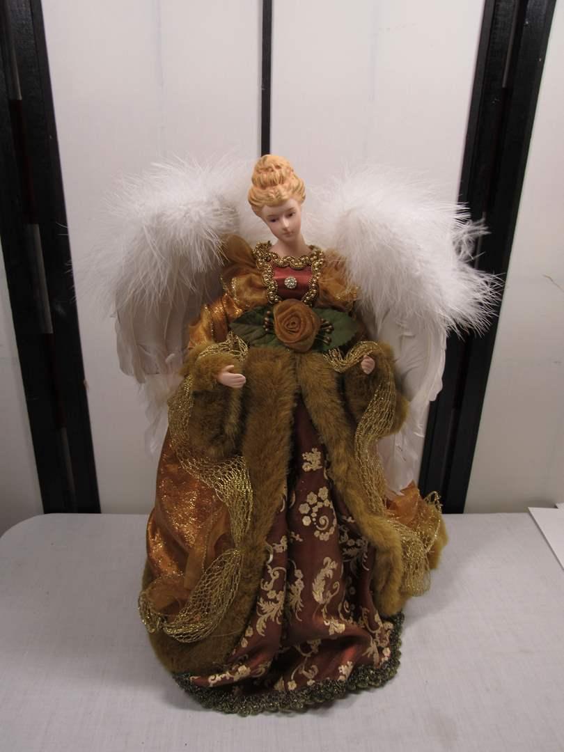 Lot # 99  Holiday angel (main image)