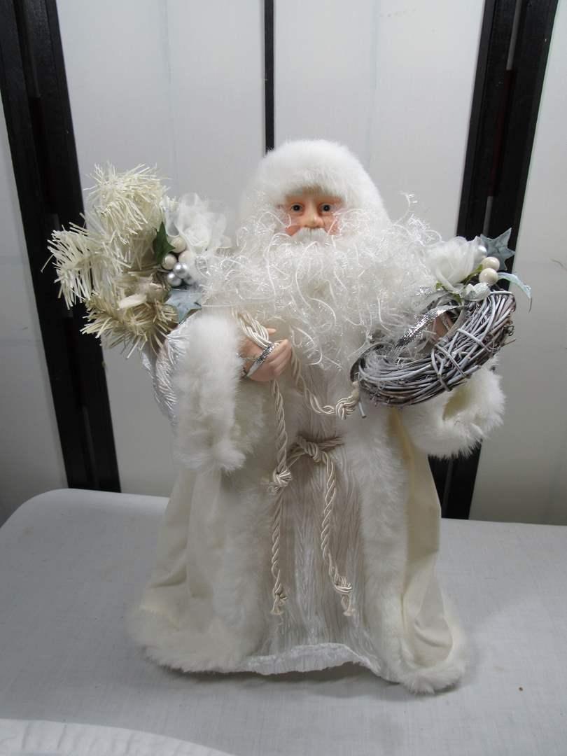 Lot # 244  Large holiday Santa display (main image)