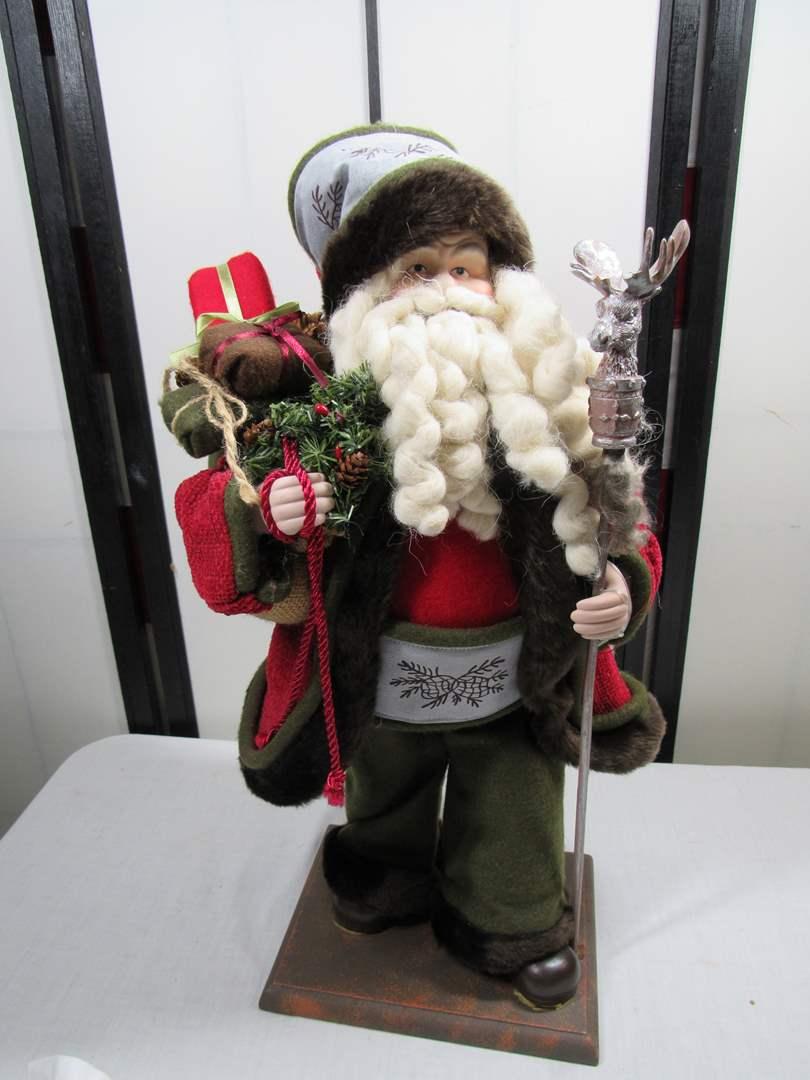 Lot # 247  Great vintage style Santa (main image)