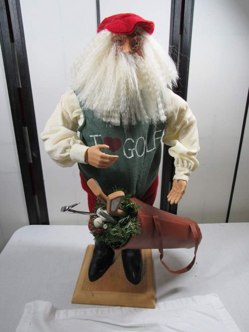 Lot # 249  Vintage style large Santa (main image)