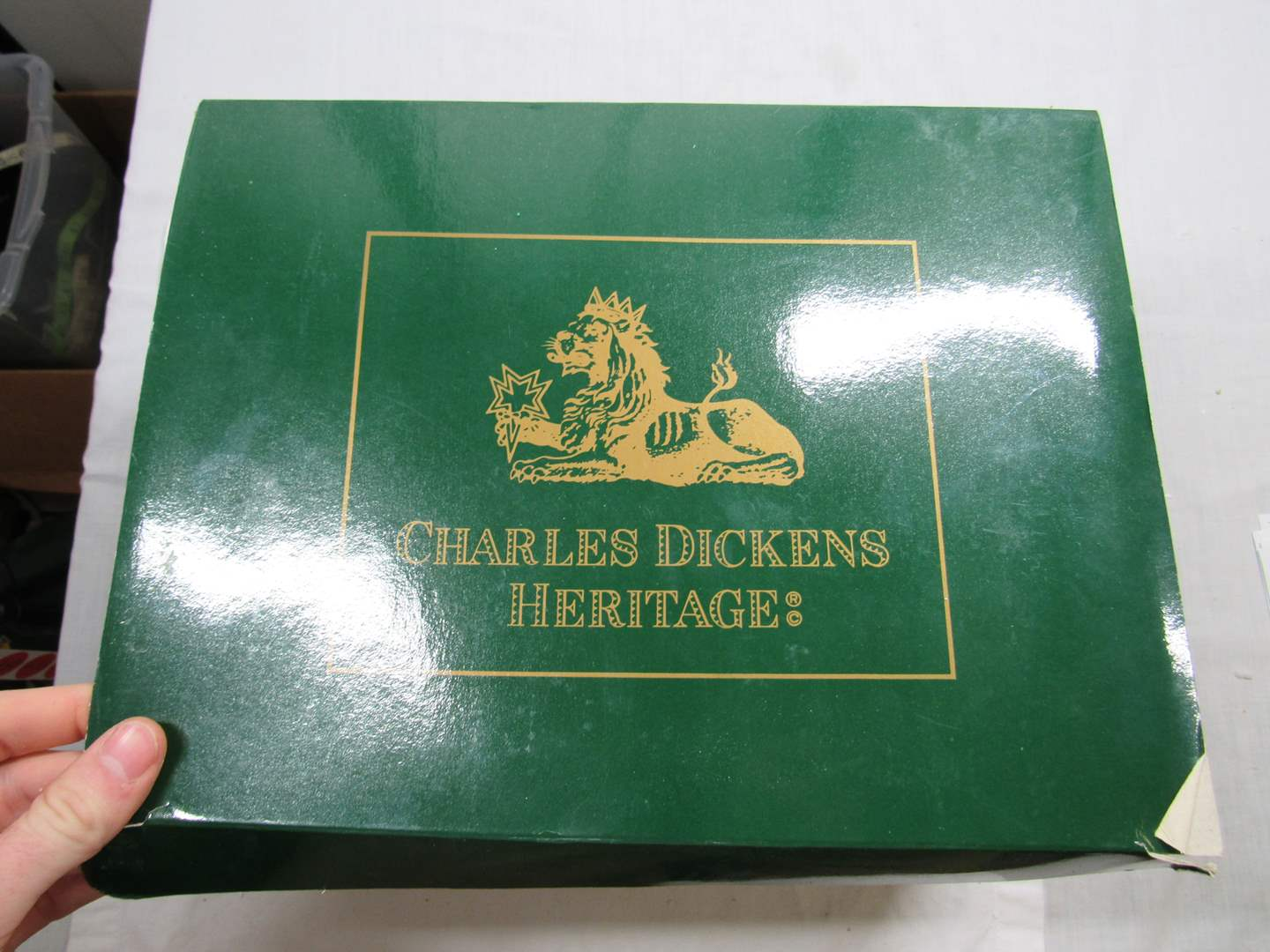"""Lot # 271   Dept 56 Dickens Village Series """"Gads Hill Place"""" (main image)"""
