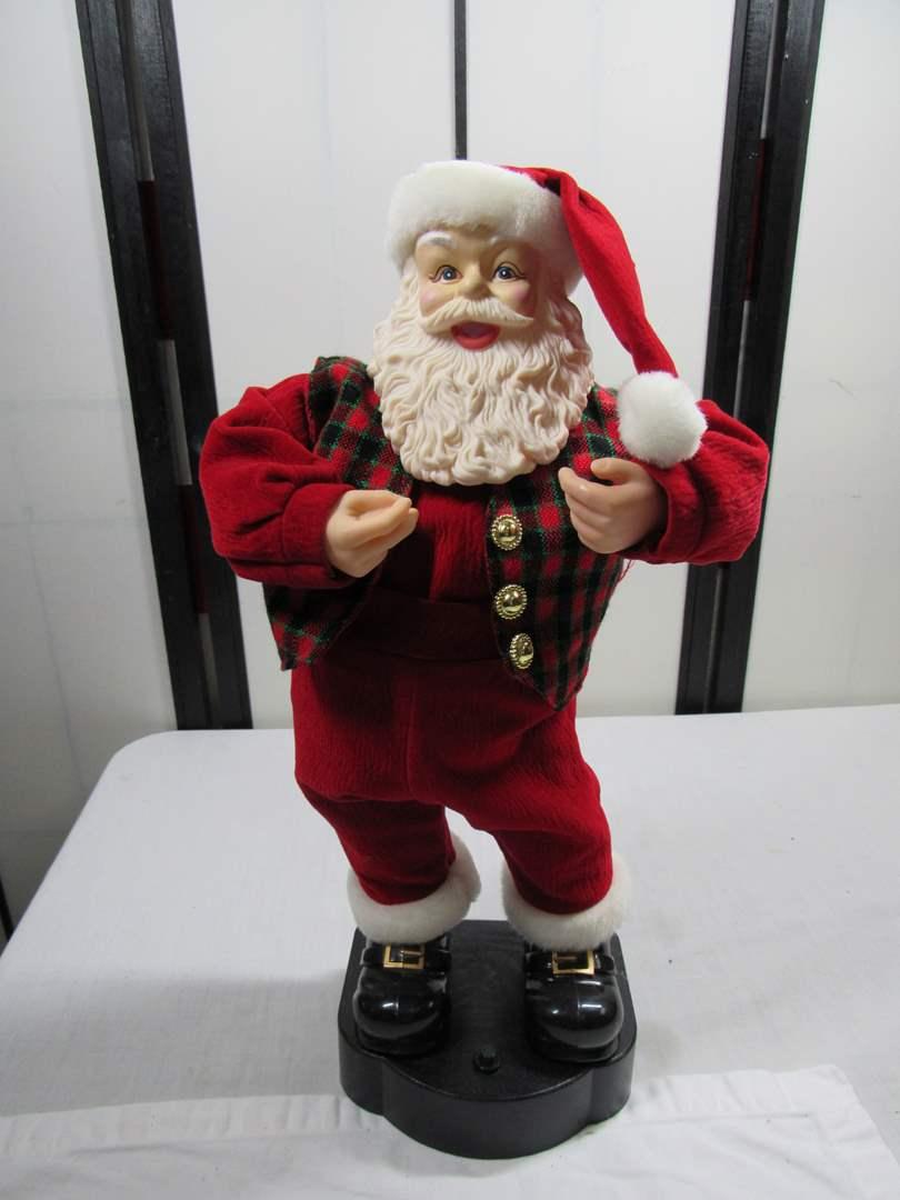 Lot # 297  Animated Santa (tested works) (main image)