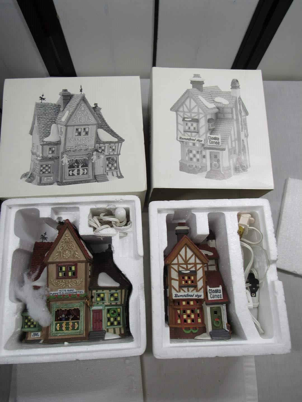 Lot # 267  2  Dept 56 Dickens Village Series houses (main image)