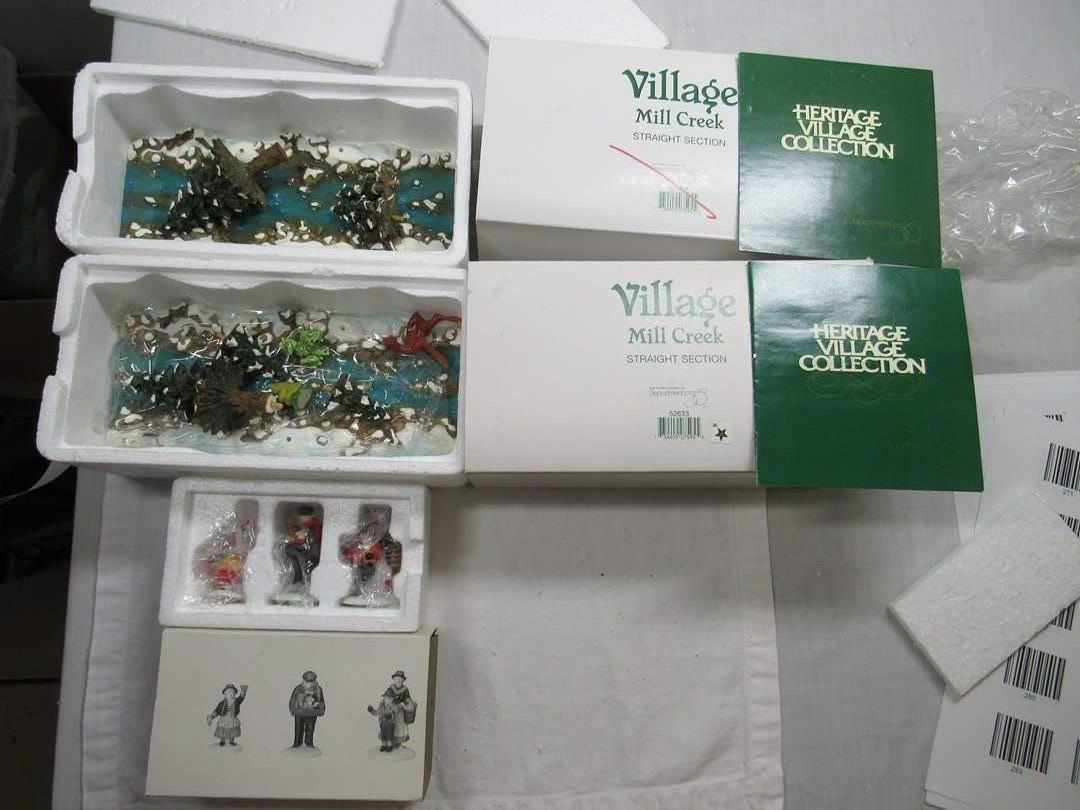 Lot # 281  Dept 56 large lot of accessories (main image)