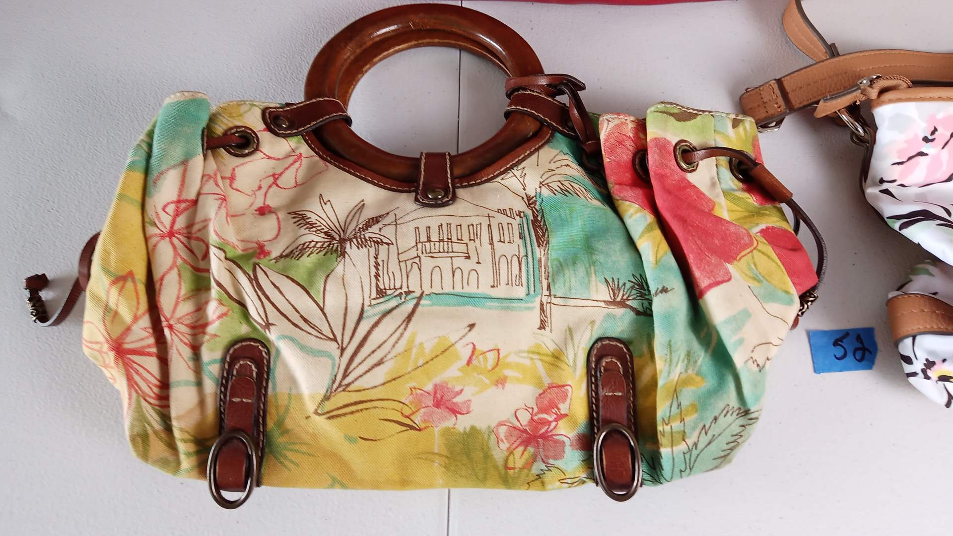 Lot # 52 8 Woman's Purses, Beach & Duffel Bags