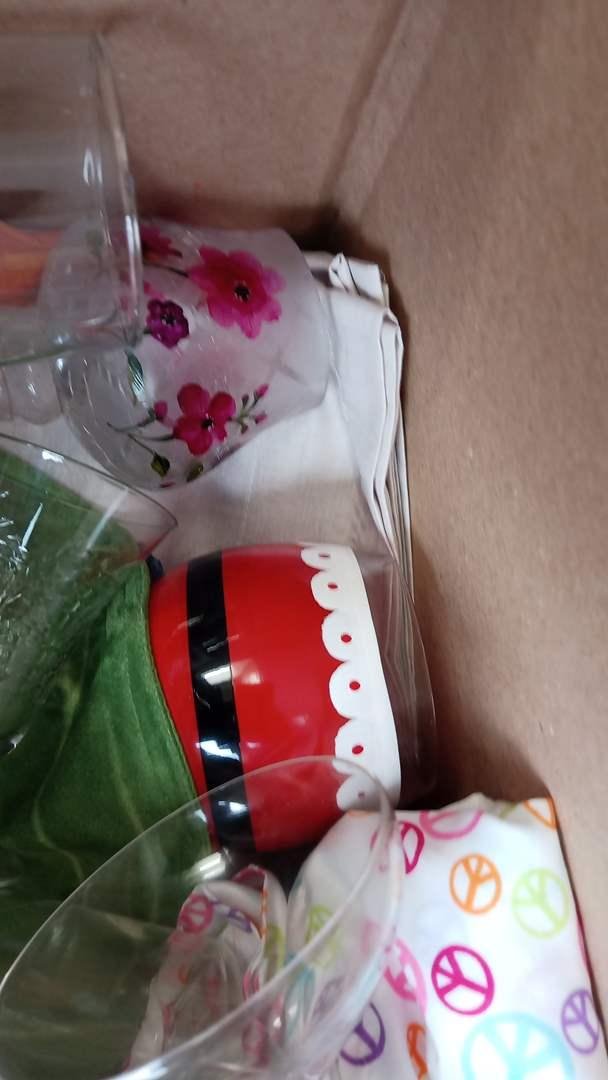Lot # 78 Misc Stemwear, Painted glasswear, etc