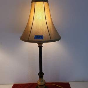Auction Thumbnail for: Lot # 27 Pretty Table Top Lamp W/ Shade