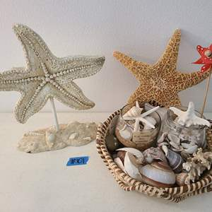 Auction Thumbnail for: Lot # 101 Small Lot of Ocean Décor