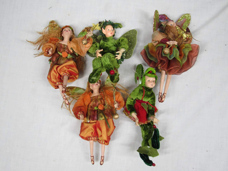 Lot # 75  Grouping of Fairy Angels Winward (main image)