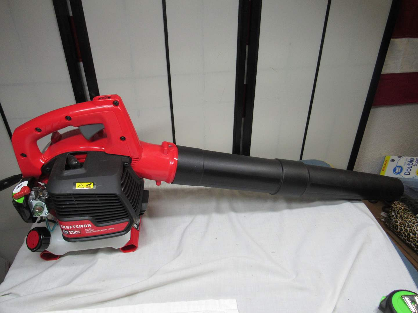 Lot # 219  Craftsman 25CC Model 210 gas blower (it has been primed but I don't think used) (main image)