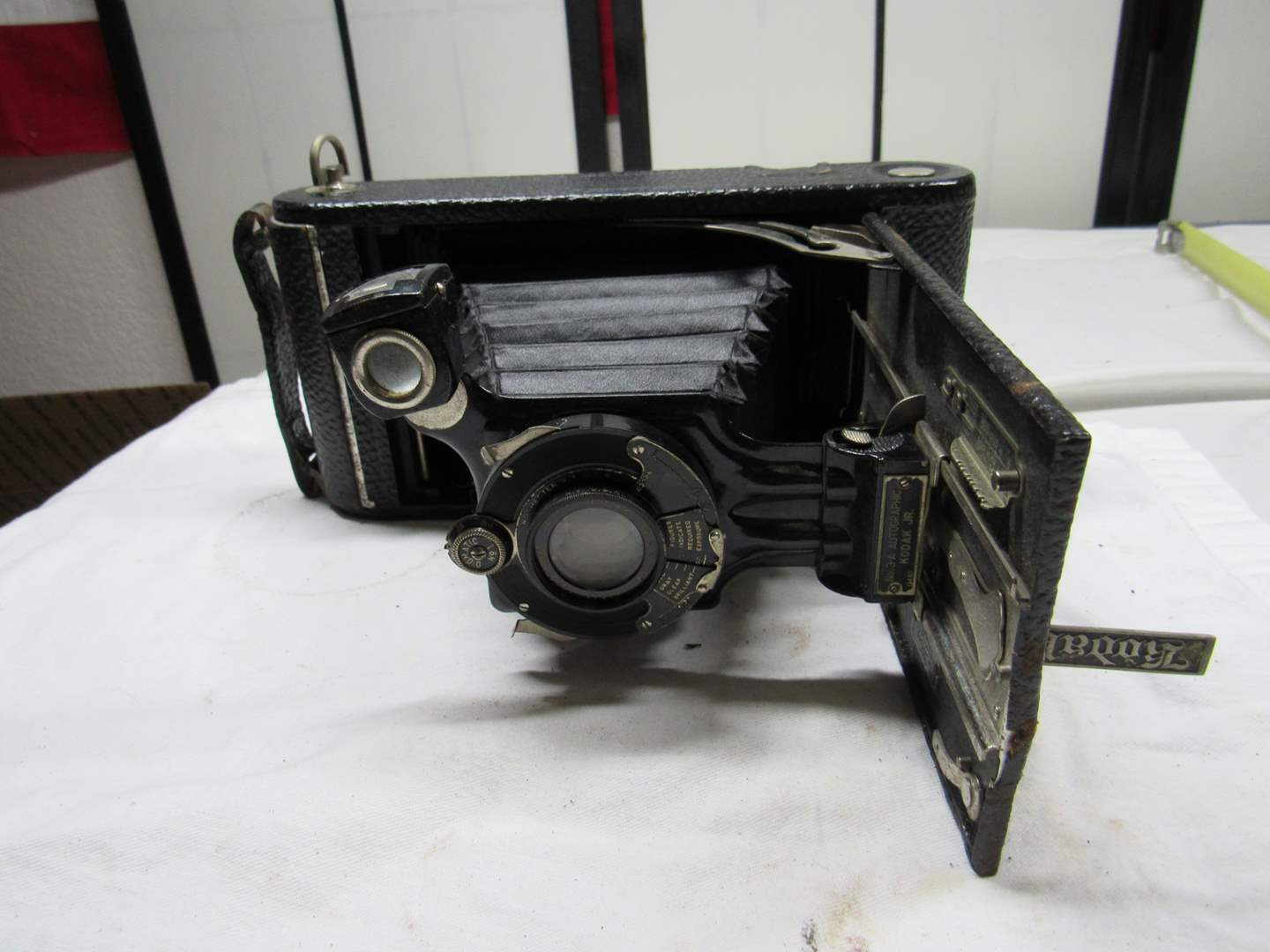Lot # 227  Antique Kodak camera ANASTIGMAT #203 (we did not try to close it this is the way it was purchased) (main image)