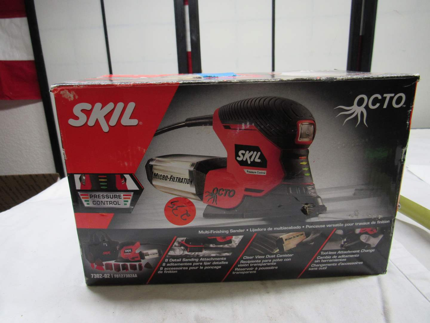 Lot # 240  Skil Multi-finishing sander (used but in good condition) (main image)