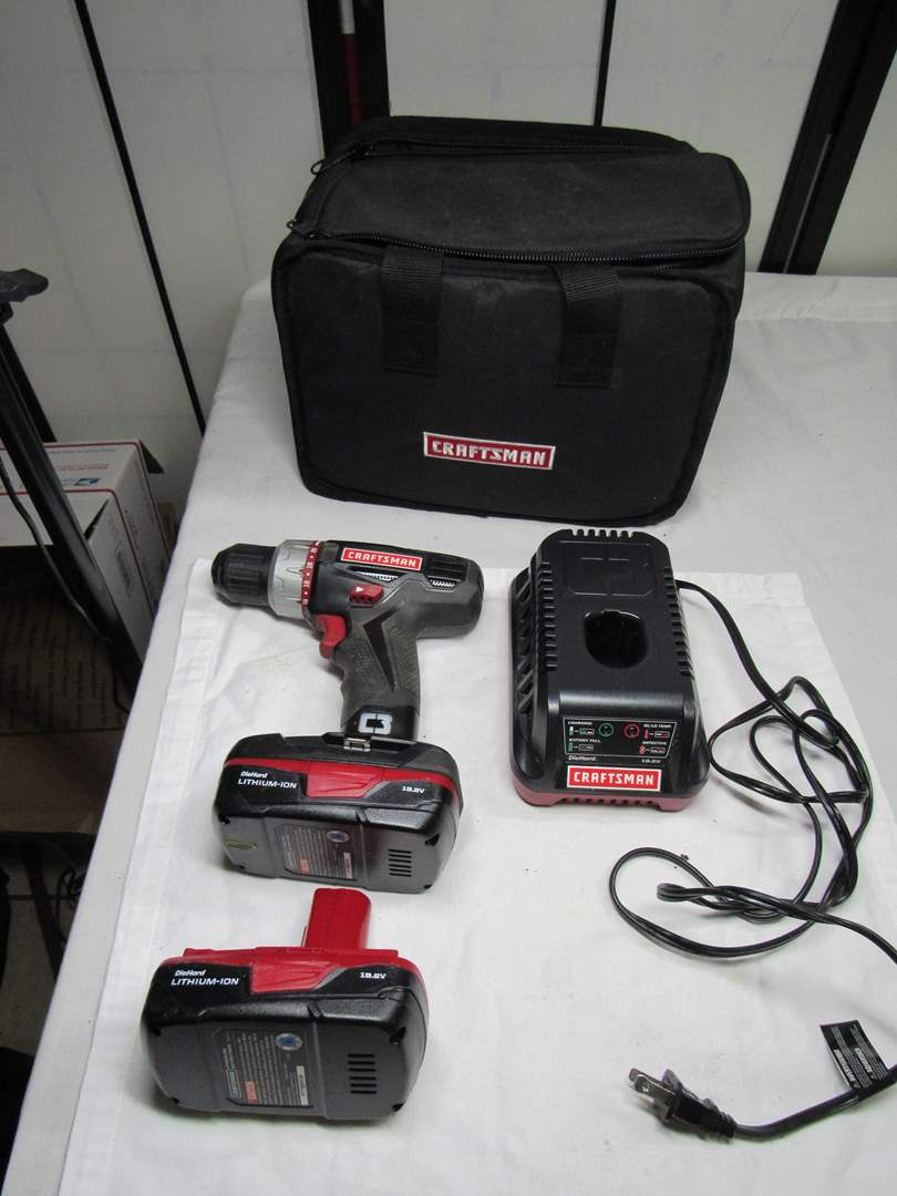 Lot # 263  Craftsman battery operated (working condition) 9.2 volt (main image)