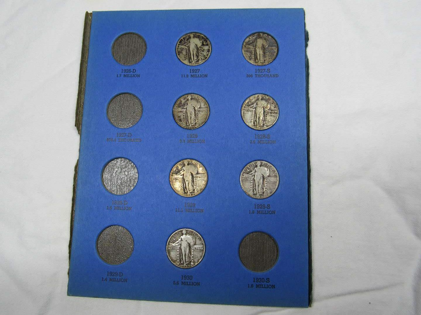 Lot # 105  Nice lot of early quarters (key dates) in various dates & condition (main image)