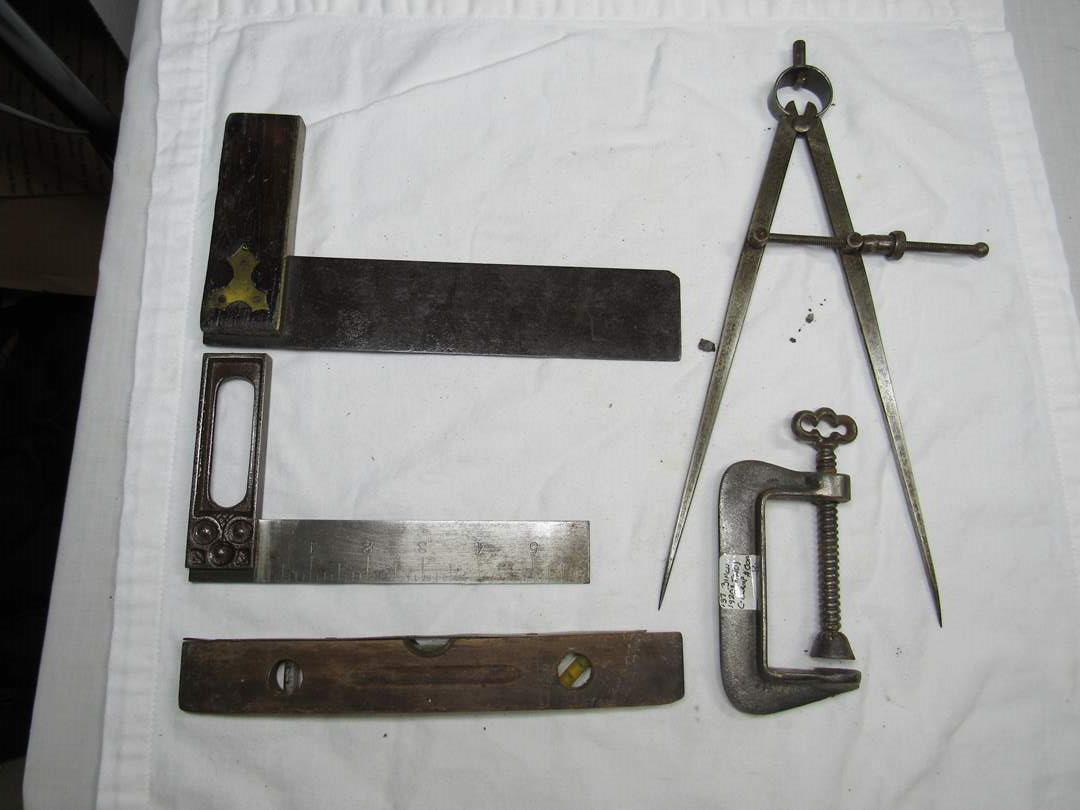 Lot # 261  Nice collection antique hand tools (main image)
