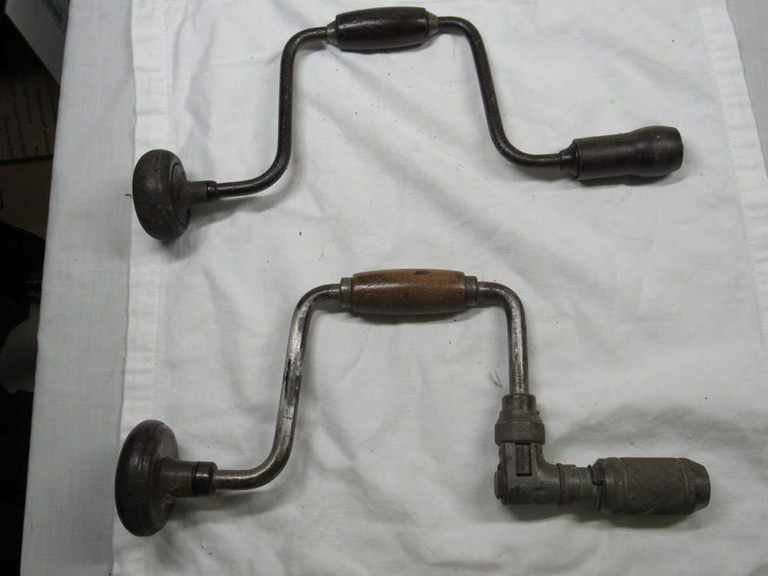 Lot # 288  2 antique hand drills (main image)