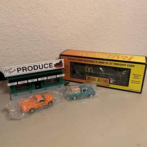 Auction Thumbnail for: Lot # 155 Vintage New Old Stock MTH Electric Train Accessories. See Below