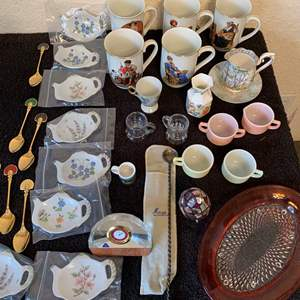 Auction Thumbnail for: Lot # 346 Large Vintage Assorted Lot Of Everything! See Pics