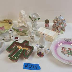 Auction Thumbnail for: Lot # 275 Small Lot of Adorable Various Figurines